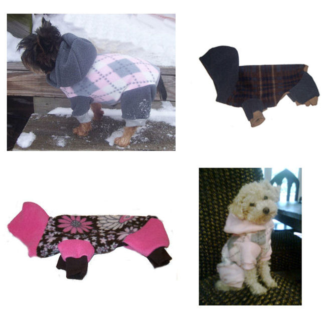 Fleece Snow Suits for Dogs http://spoiledmaltese.com/forum/73-vendor-forum/115768-custom-made-fleece-snowsuits.html