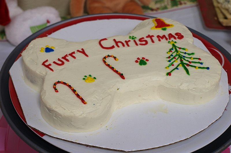 I Saw Santa Paws!-furrychristmascake.jpg