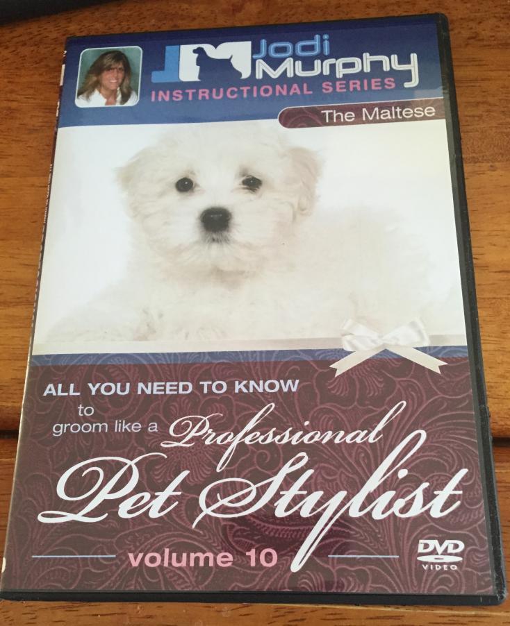 Brand New Jodi Murphy Instructional Video for Maltese Grooming Volume 10-jm-1.jpg